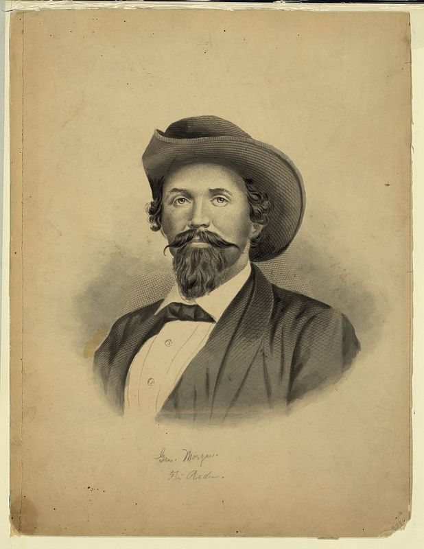 Confederate cavalryman John Hunt Morgan