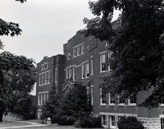 Originally called Funk Seminary, it is now the LaGrange Elementary School