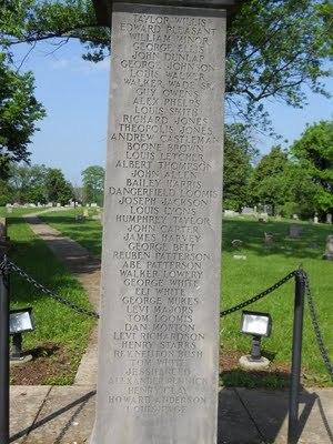 Frankfort USCT Monument