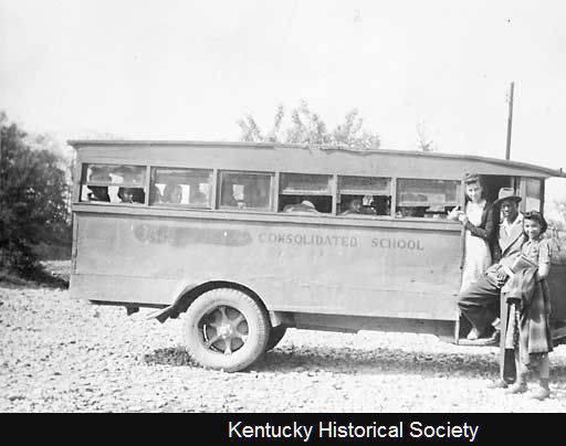 African American School Bus