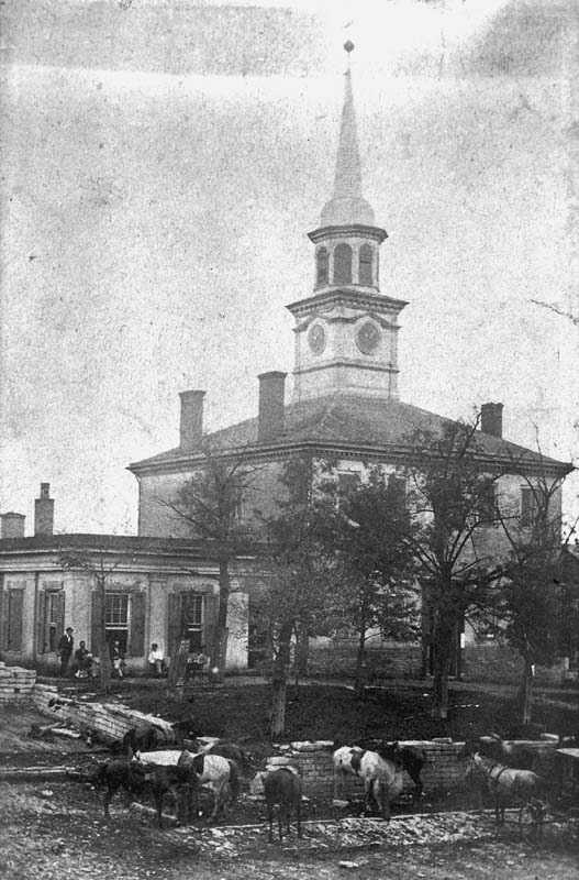 Bourbon County Courthouse, 1799-1872