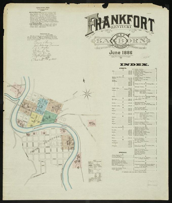 Frankfort Map