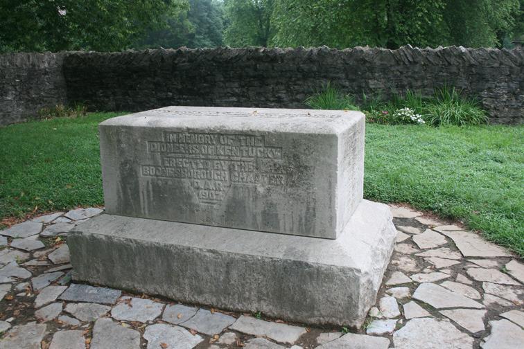 Fort Boonesborough Monument
