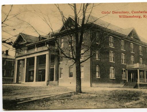 Girls Dorm at Cumberland College