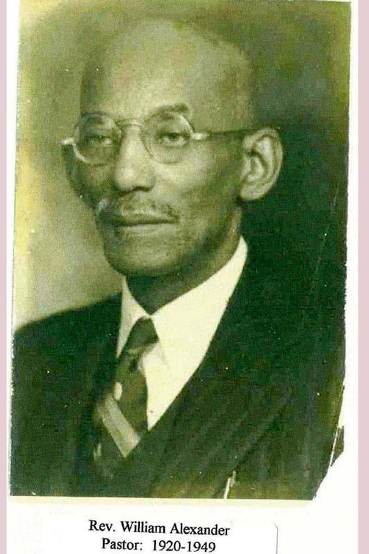 Rev. William Alexander