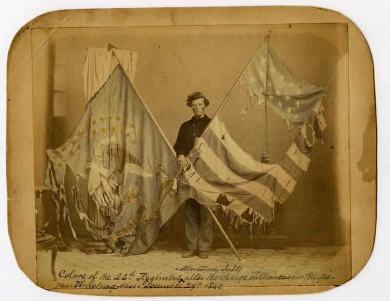 22nd Kentucky Infantry Regiment Flags