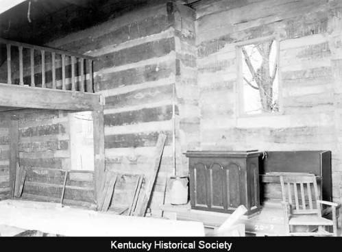 Log Walls of Cane Ridge Meeting House