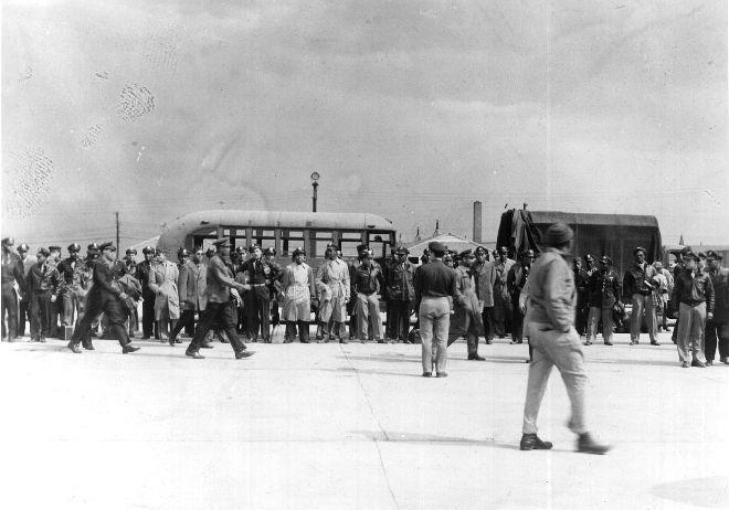 Men Arrested at Freeman Field
