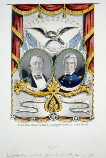 Lewis Cass and William Butler