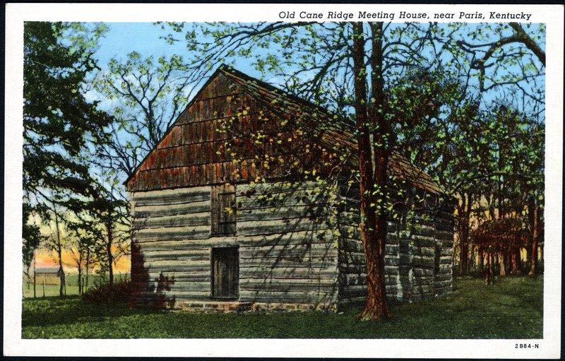 Cane Ridge Meeting House