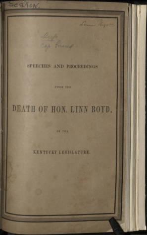 Honorable Linn Boyd