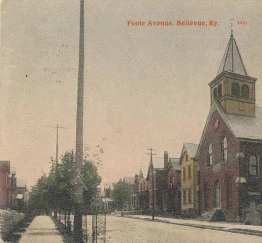 """""""Foote Avenue, Bellevue, Ky."""""""