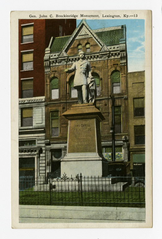 John C. Breckinridge Monument, Lexington