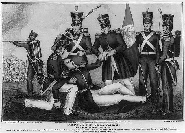 Death of Col. Clay