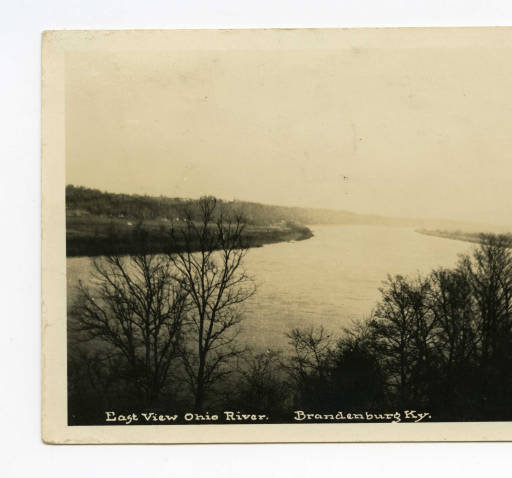 East View Ohio River. Brandenburg, Ky.