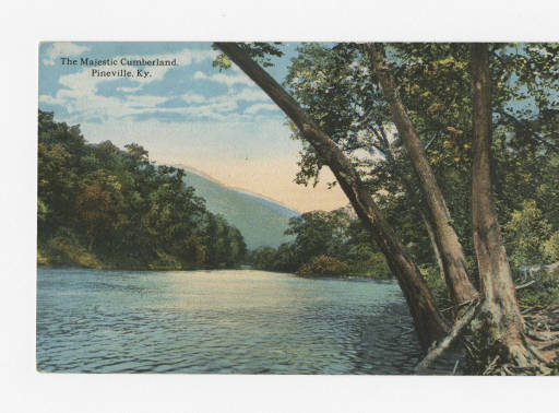 The Cumberland River near Pineville