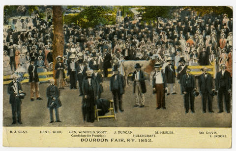 1858 Bourbon County Agricultural Fair