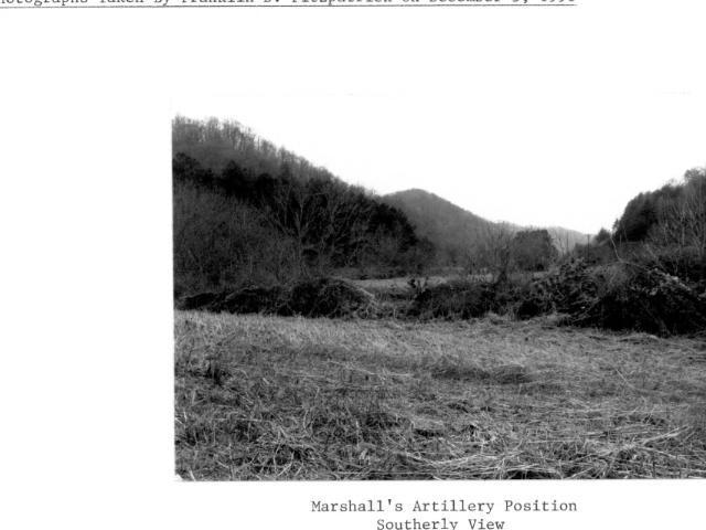 Confederate Artillery Position