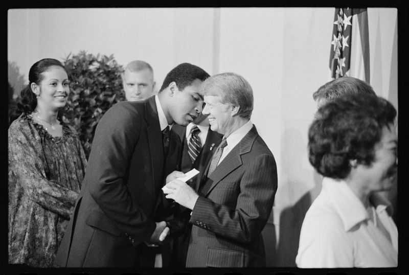 Ali and President Carter