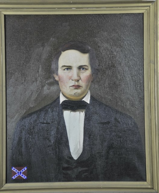 Confederate Governor George Johnson
