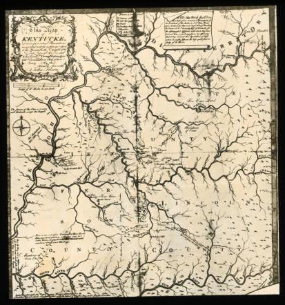 Filson's Map of Kentucky