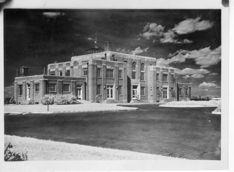 Administration Building at Bowman Field in 1936