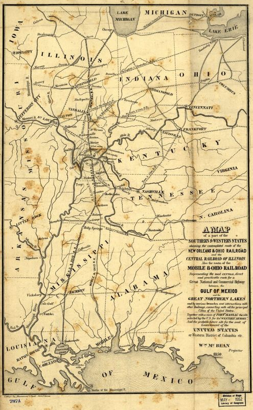 Early Railroad Routes