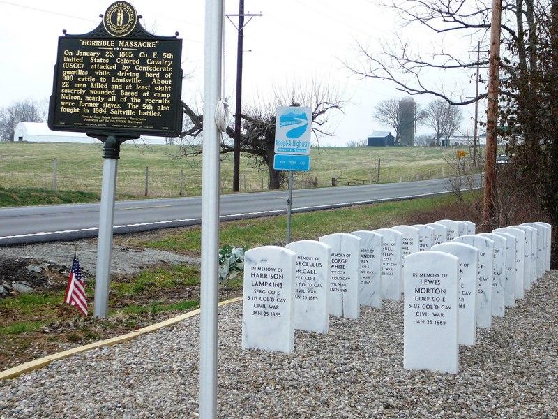 Simpsonville USCC Memorial Site