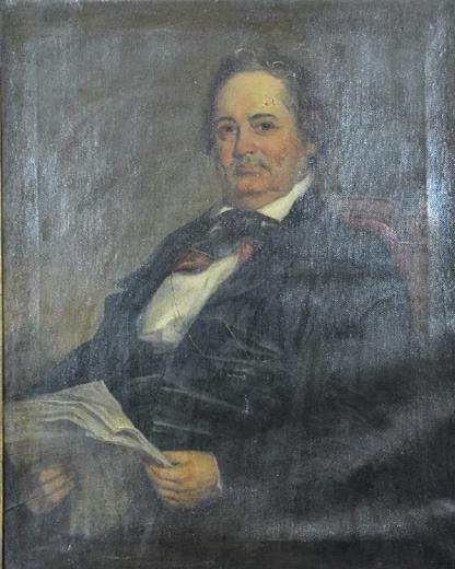 Portrait of Governor Robert P. Letcher