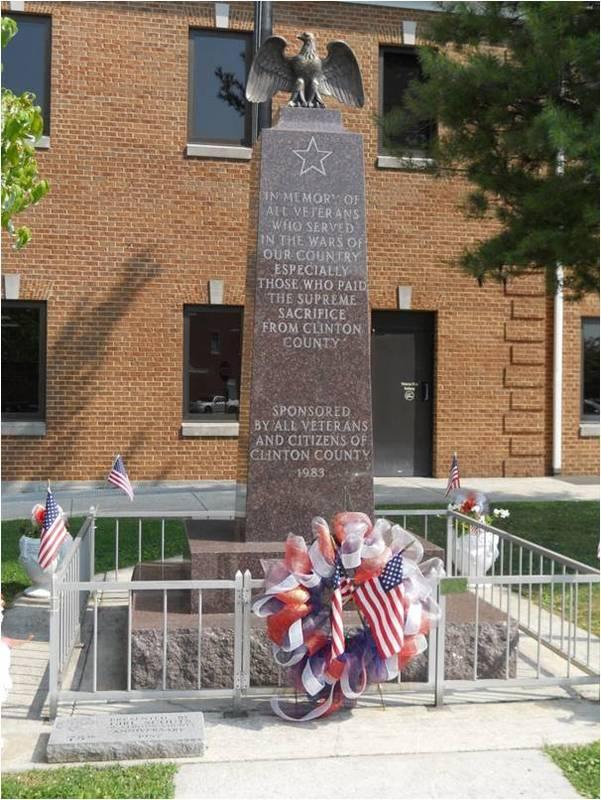 Clinton County Veterans Memorial