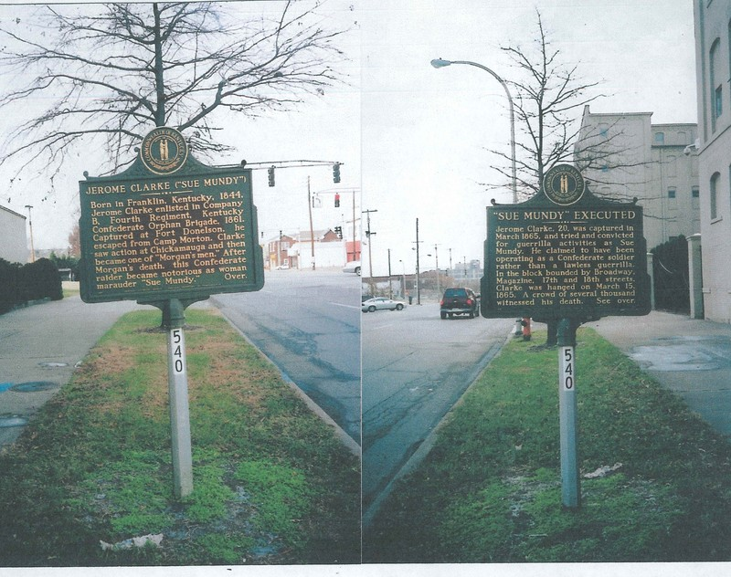 Jerome Clarke Historical Marker