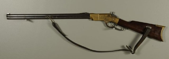Henry Rifle, used by a Cynthiana home guardsman