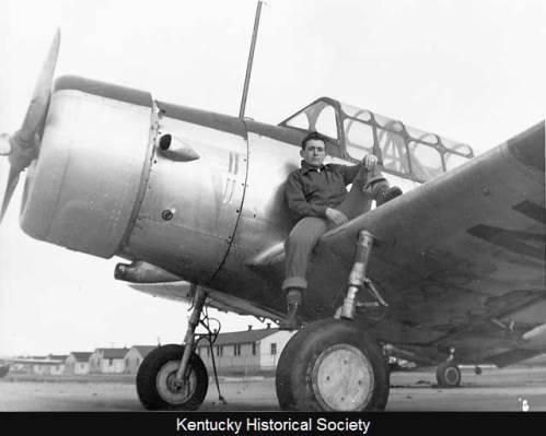Airplane at Bowman Field