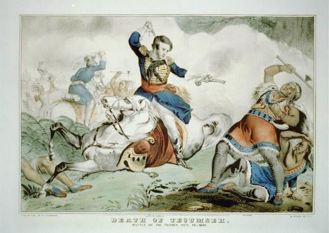 Death of Tecumseh