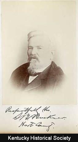 Former Confederate General Simon Bolivar Buckner