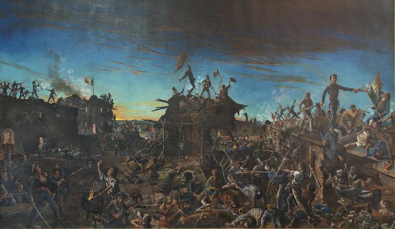 """""""Dawn at the Alamo"""""""