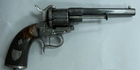 Confederate Colonel William W. Ward's pistol