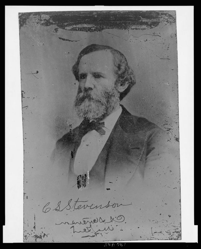 Confederate General Carter L. Stevenson