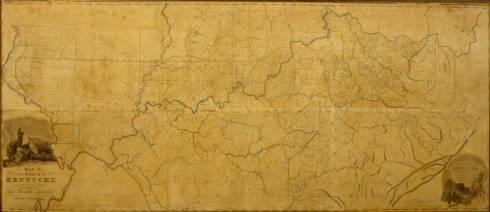1818 Kentucky Map