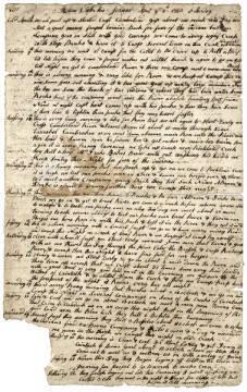 William Calk's journal