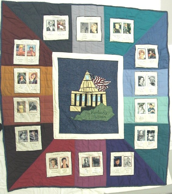 Famous Women of Kentucky Quilt
