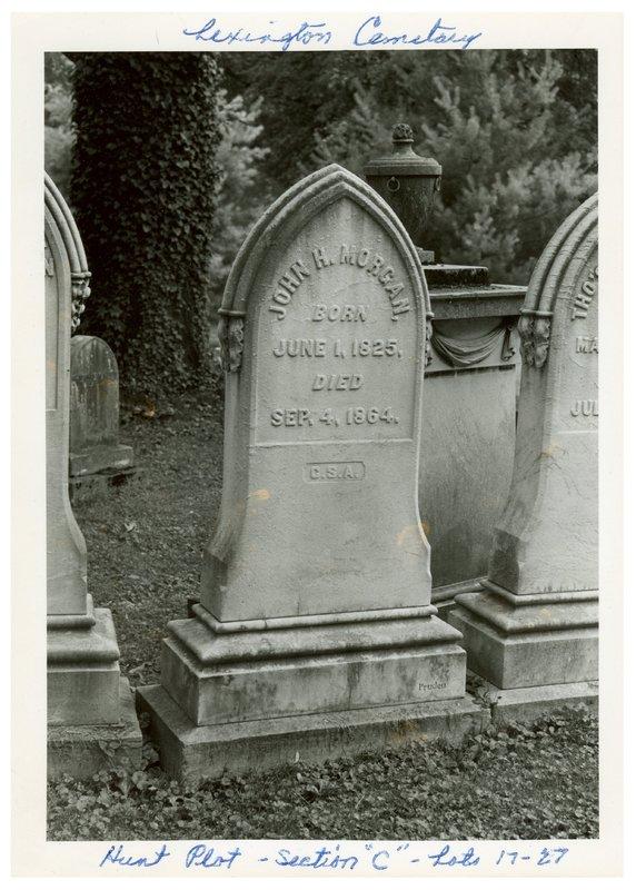 Morgan Tombstone