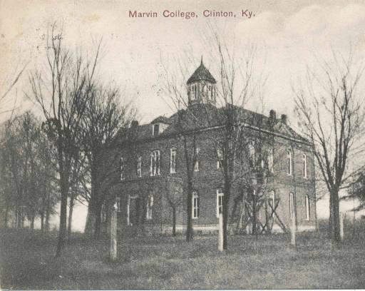 Marvin College, Clinton, Hickman County, Kentucky