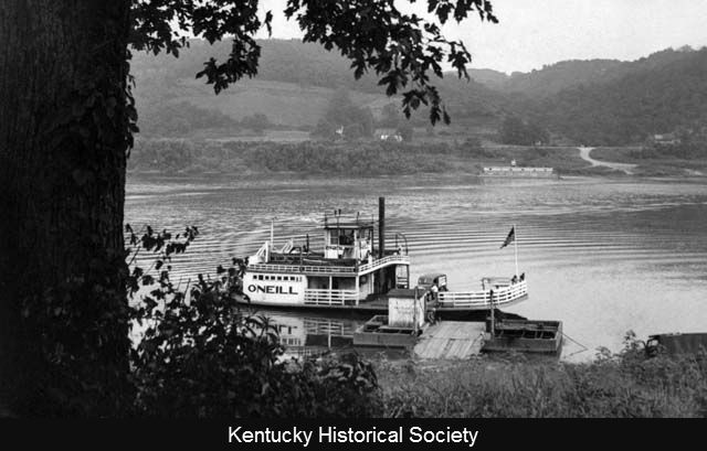 The Ohio River at Augusta, Kentucky