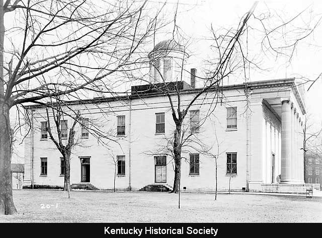 Kentucky's Old State Capitol, 1934.