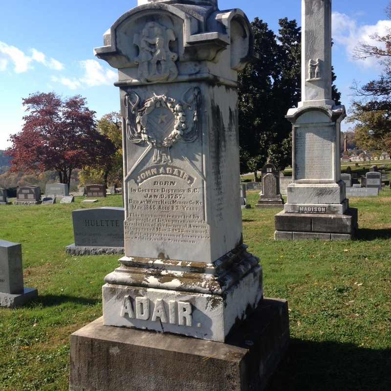 Grave of Governor John Adair
