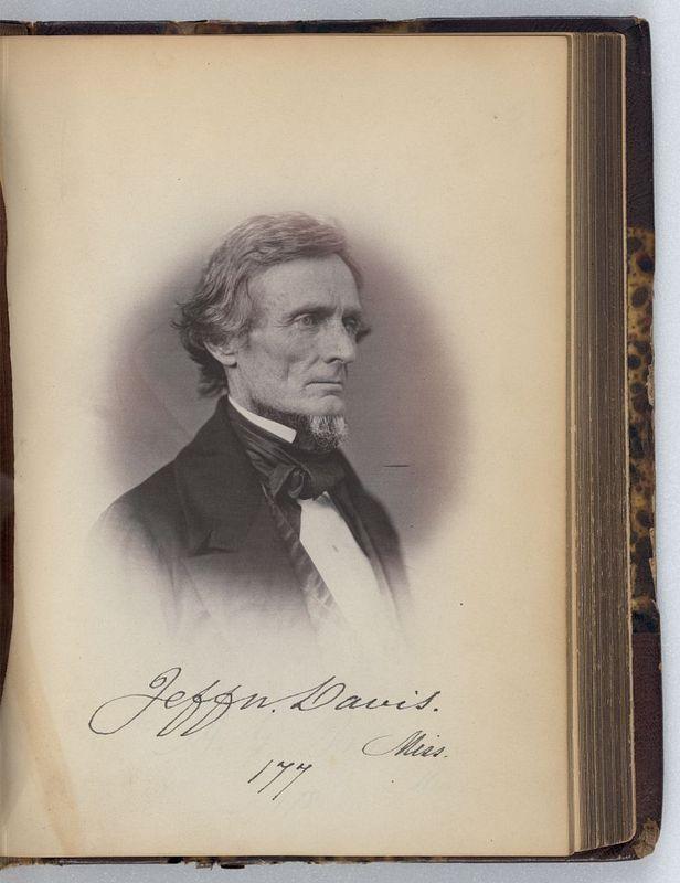 Senator Jefferson Davis