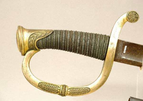 Theodore O'Hara's sword, hilt and grip