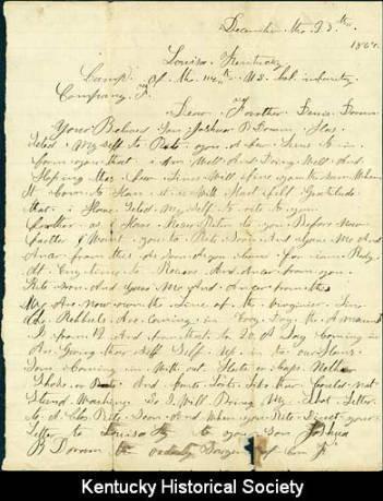 Joshua Doram Letter