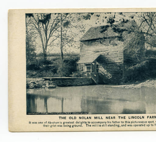 Old Nolan Mill, near Hodgenville